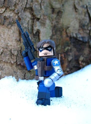 Marvel Minimates TRU Toys R Us Wave 18 Winter Soldier SHIELD Agent /& Hydra Elite