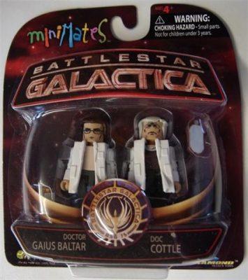 Battlestar Galactica Minimates Series 4 Doc Cottle