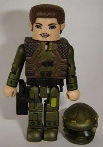 Battlestar Galactica Minimates Captain Kat Katraine /& Heavy Assault Cylon