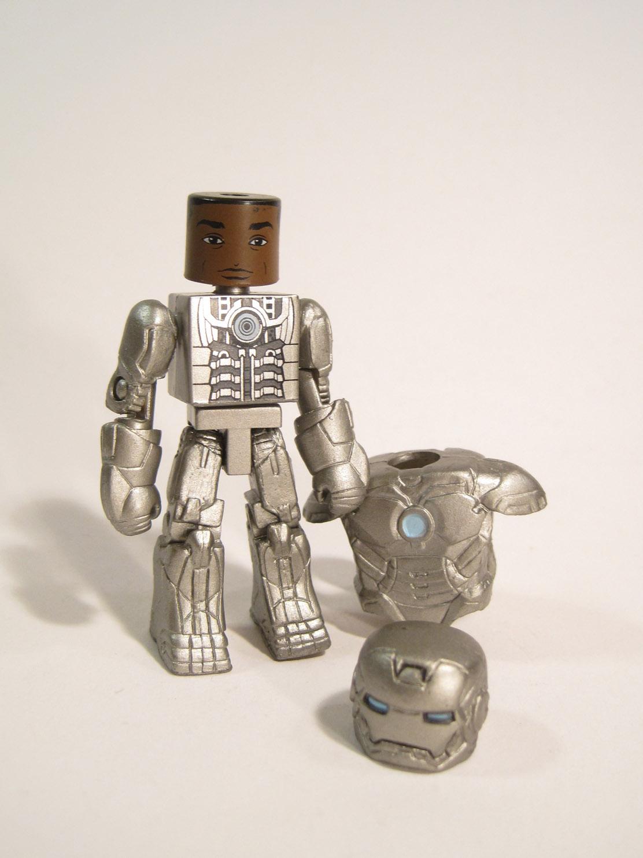Marvel Minimates TRU Iron Man 2 Movie James Rhodes Mark II Armor /& Black Widow
